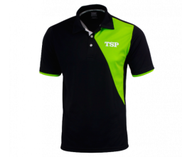 TSP / SHIRT TAMEO COTTON black/lime