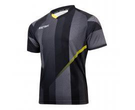 Victas / V-shirt 218 black / yellow