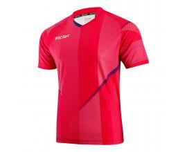 Victas / V-shirt 218 red / navy