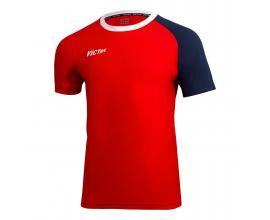 Victas / V-shirt 219 red / navy