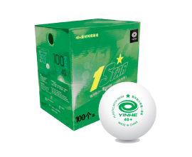 Yinhe / 1 star ball 40 + ABS  box of 100