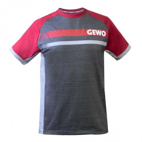 Gewo / Cotton T-Shirt Fermo Bordeaux